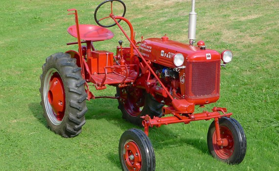 Red Farmall Tractor