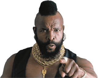 Mr T Saying it with Love