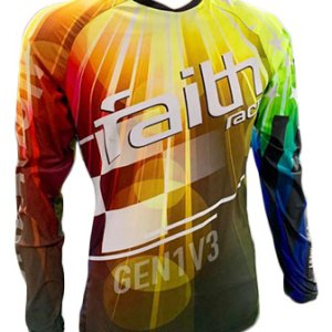 New Faith Race Creation Jersey