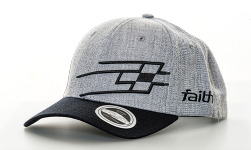 Caps available online from Faith Race USA