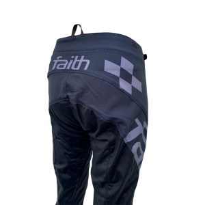 2020 Faith Race Advent pants - Black / Grey