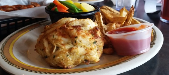 Happy Hour:  Crabcake standards