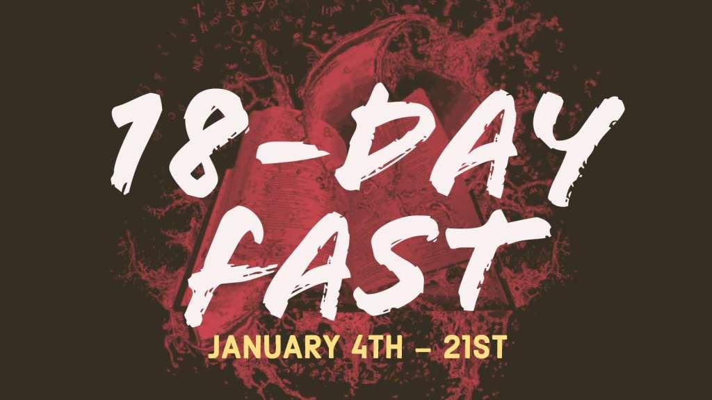 Faithwalk Harvest Center - 18 day fast