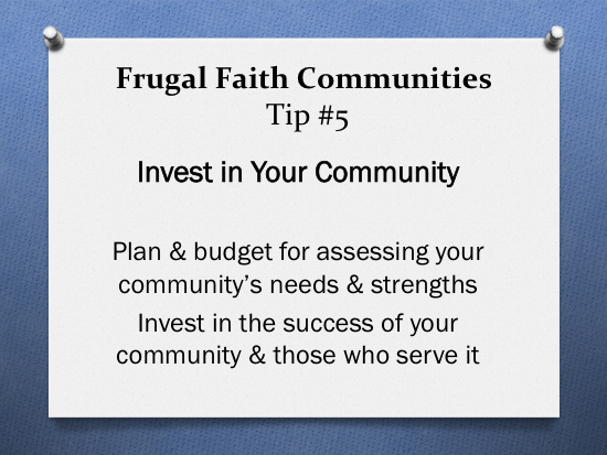 frugal-faith-communities-tip-5