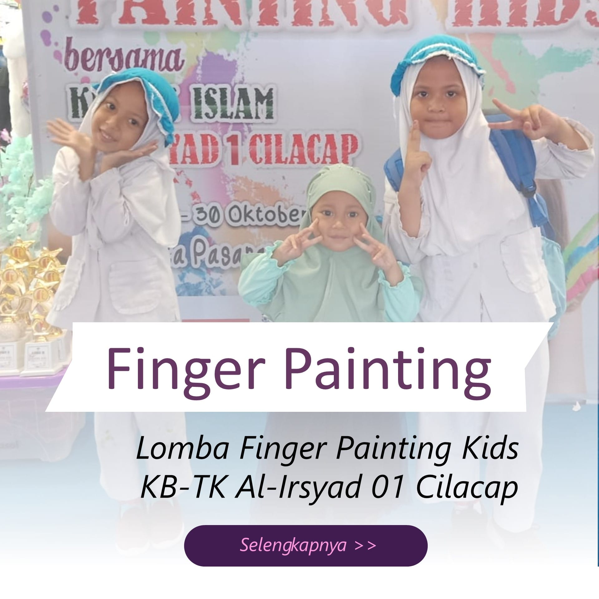 Finger Painting Kids