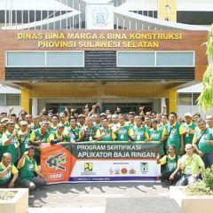 Supplier Baja Ringan Di Makassar Pt Tatalogam Lestari Sertifikasi Tukang Sulsel Fajar