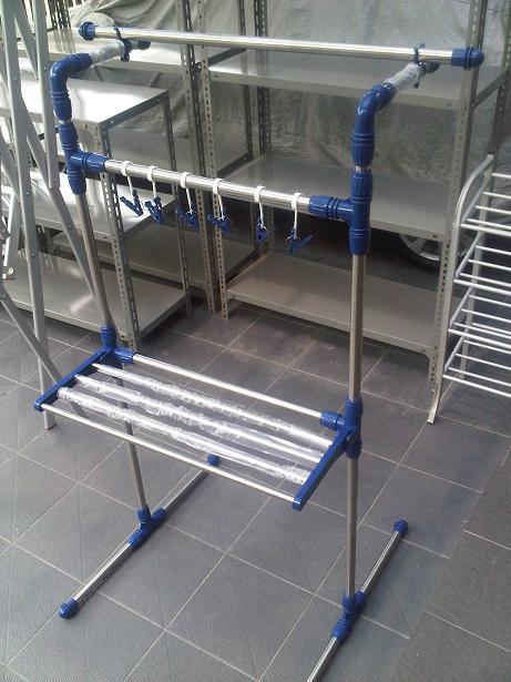 Jemuran Stainless Steel Serba Guna 3 In 1Buruannn Di