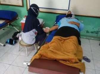 Warga RW07 Gunungsari Bedeng Gelar Aksi Donor Darah