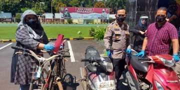 Jajaran Polresta Cirebon saat melakukan konferensi Pers pengungkapan kasus
