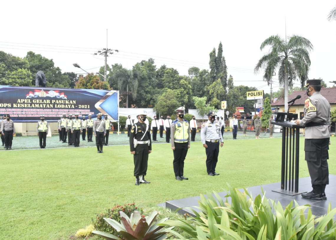 Tindaklanjuti Larangan Mudik, Polresta Cirebon Gelar Operasi Lodaya 2021