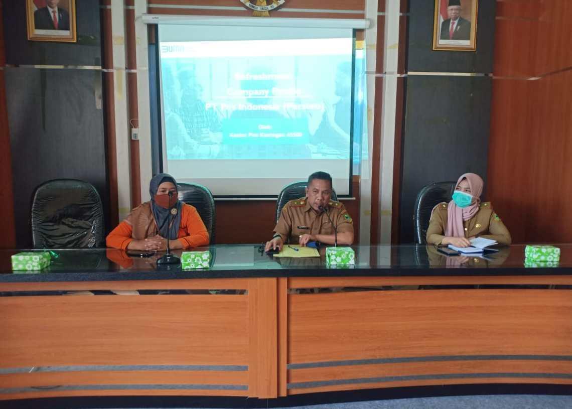 PT Pos Indonesia Siap Berikan Training Agen Pos Bagi BUMDes