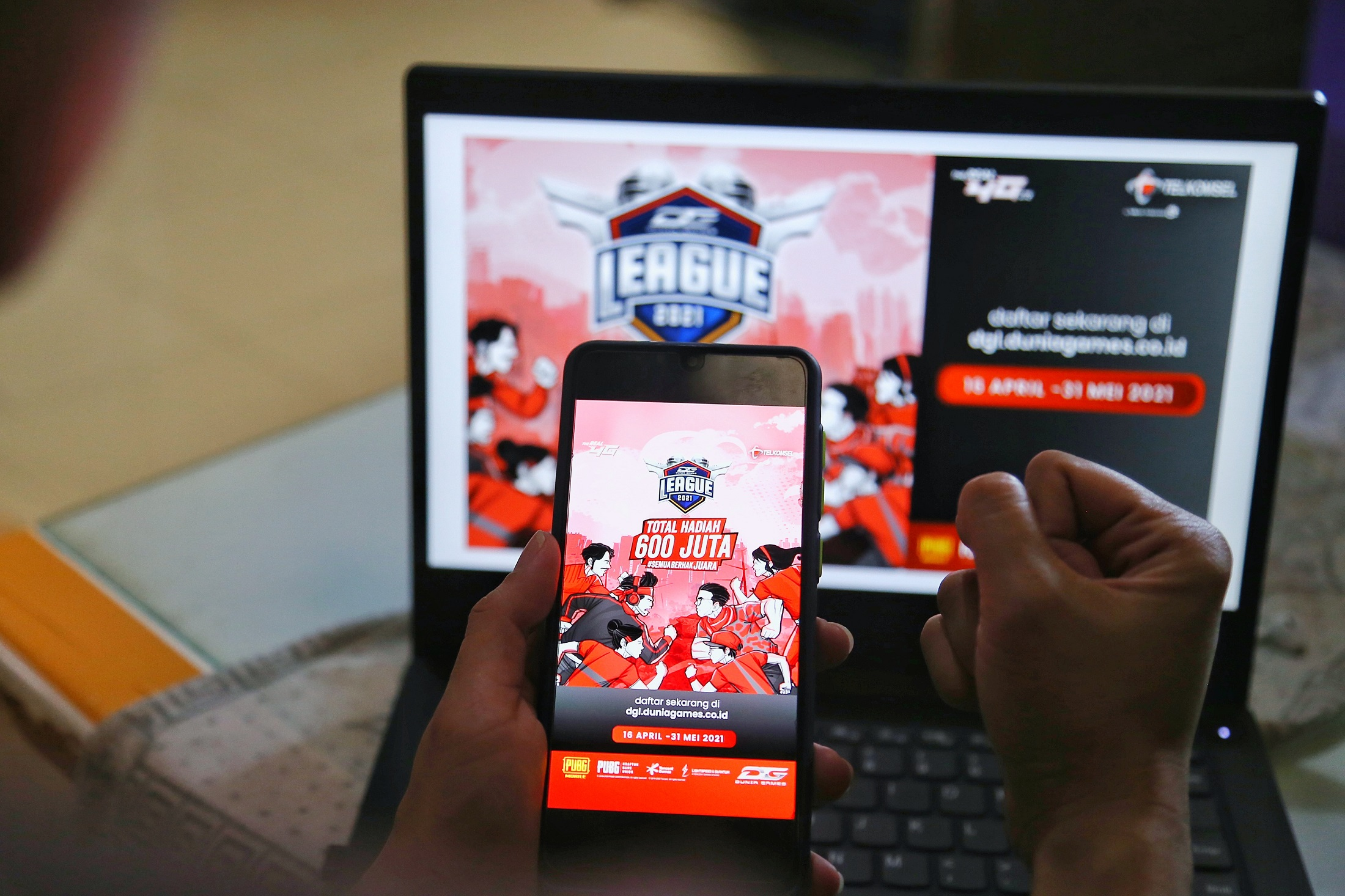 Dunia Games League 2021 Dorong Gamer Indonesia Tingkatkan Kemampuan