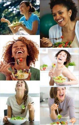 Amikor a saláta jobbnál jobb vicceket mesél