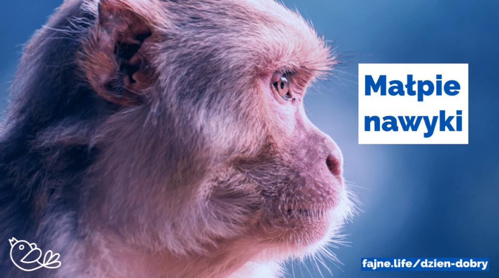 Małpie nawyki