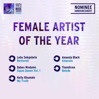 South African Music Awards 2016 - Full Nominee List #SAMA23 16