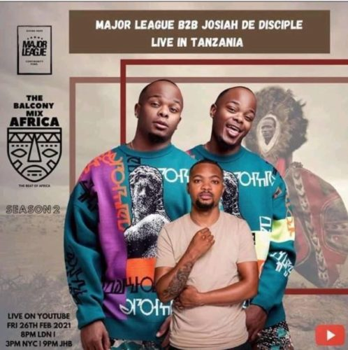 Major League & Josiah De Disciple – Amapiano Live Balcony Mix B2B Sunset live in Tanzania