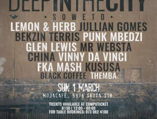 Black Coffee – Live At (Deep In The City Soweto)
