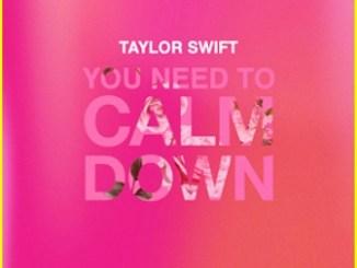 Taylor Swift - You Need To Calm Down Lyrics Fakaza Mp3 Download