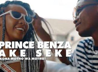 VIDEO: Prince Benza – Ake Seke ft Dr Malinga Fakaza Video download