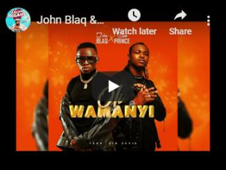 John Blaq & Slim Prince – Oli Wamanyi (video) Mp3 Download