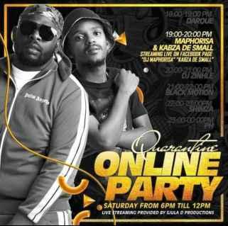 Download Mp3 DJ Maphorisa & Kabza De Small – Quarantine Online Party Mix