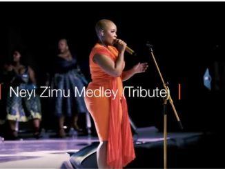 Bucy Radebe - Neyi Zimu Medley (Tribute)