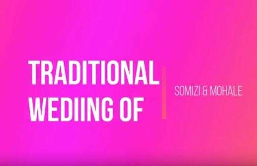Somizi And Mohale's Traditional Wedding