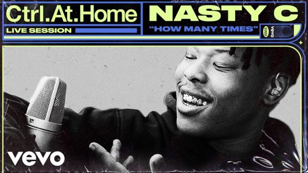 Nasty C – How Many Times (Live Session) Vevo Ctrl.At.Home