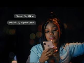 Elaine – Right Now Video