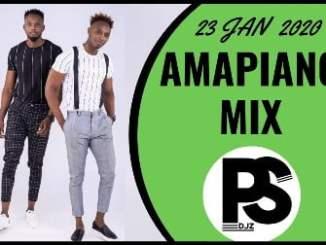 Amapiano Mix 23 January 2020, Doubletroublemix, PSDJZ, Video, mp3, download, datafilehost, fakaza, DJ Mix