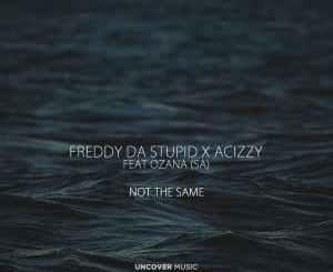 Freddy Da Stupid, Acizzy, Ozana (SA), Not The Same (Afro Dub), mp3, download, datafilehost, fakaza, DJ Mix