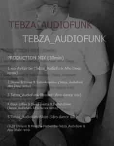 Tebza Audiofunk – Underground Afro 2019 Mix