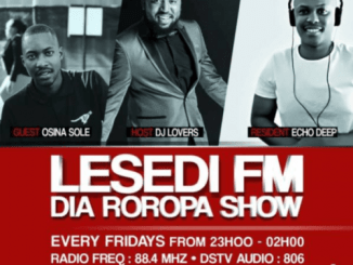 Echo Deep – #DiaRoropa Mix on Lesedi FM 01.09.19