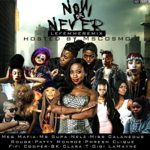 DJ Switch & MsCosmo – Now Or Never (LeFemme Remix) ft. Fifi Cooper, BK, Clara T, Gigi Lamayne and more!