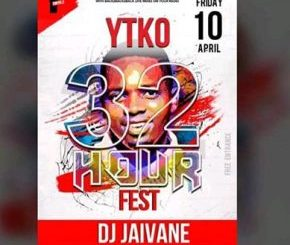 Dj Jaivane – YTKO 32 HOUR FEST 1 Hour Mix