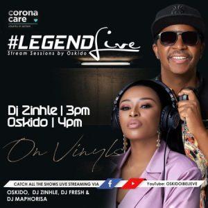 Dj Zinhle – Legend Live Mix (Presents by Oskido)