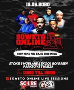 Dj Stokie – Soweto Online Sessions (13-06-20)