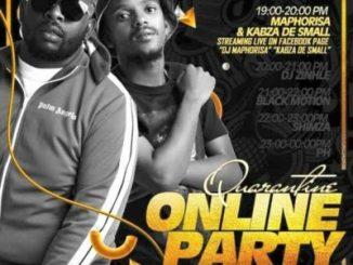 Kabza De Small, DJ Maphorisa, DJ Zinhle & Darque SA Quarantine Online Party Pt 1 Mp3 Download