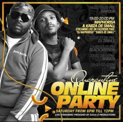 DJ PH SA Quarantine Online Party Pt 3 Mix Mp3 Download