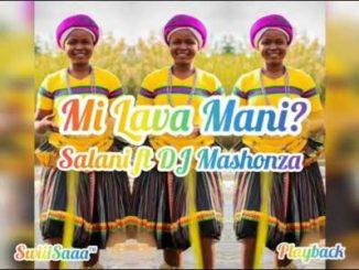 Salani ft DJ Mashonza Mi Lava Mani (2020) New hit Mp3 Download
