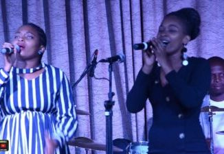 Buhle From Imbewu And Her Twin Singing On Worship Night Mp3 Download Fakaza
