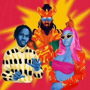 Download Mr Eazi & Major Lazer Ft Nicki Minaj & K4mo Oh My Gawd Mp3