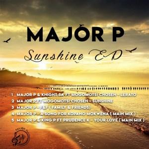 Major P Sunshine EP Zip Download Fakaza