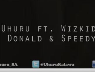 Uhuru Ungowami Ft. Wizkid, Donald & Speedy Video Download