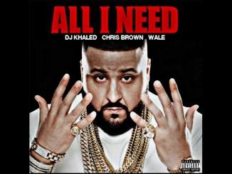 Dj Khaled, Chris Brown & Wale All I Need Mp3 Download