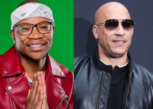 American Actor, Vin Diesel, Welcomes South African Singer, Master KG