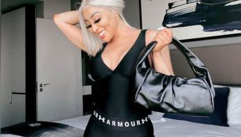 Mzansi angered by Khanyi Mbau's song to lonely boyfriend in Dubai