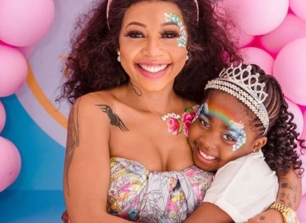 Kelly Khumalo Buys New Ride For Daughter, Thingo (Videos)