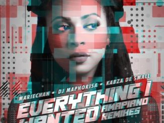 Mariechan – everything i wanted ft. DJ Maphorisa & Kabza De Small Mp3