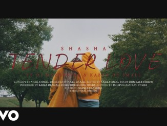 VIdeo: Sha Sha – Tender Love ft. DJ Maphorisa, Kabza De Small